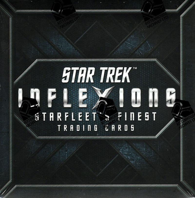 2019 RITTENHOUSE STAR TREK INFLEXIONS - STARFLEET'S FINEST[ボックス]