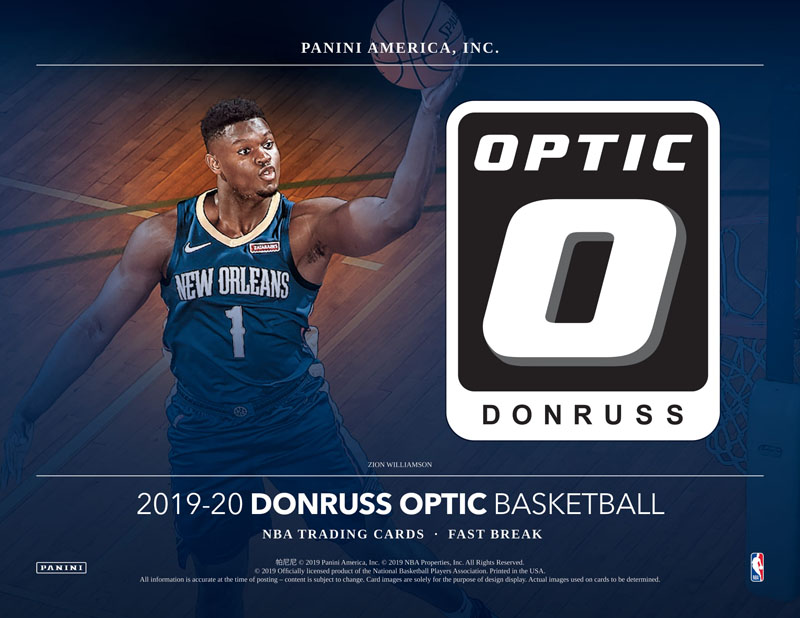 NBA 2019-20 DONRUSS BASKETBALL OPTIC FAST BREAK[ボックス]