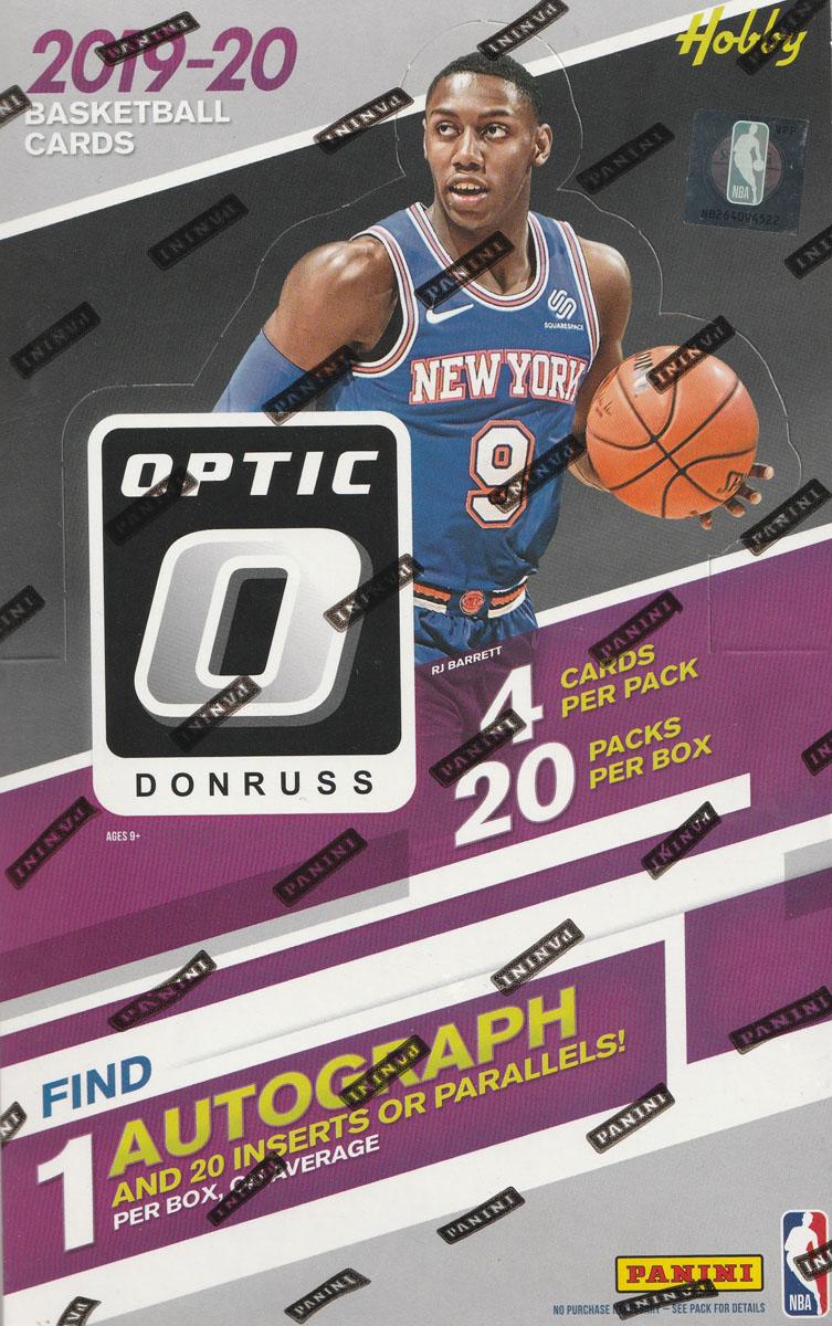 NBA 2019-20 DONRUSS OPTIC BASKETBALL HOBBY[ボックス]