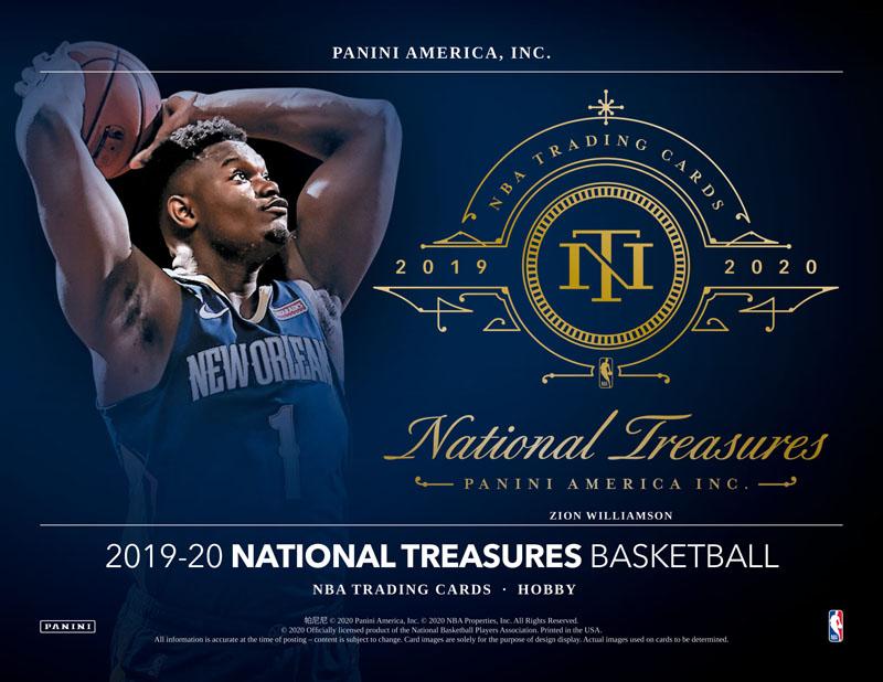 NBA 2019-20 PANINI NATIONAL TREASURE BASKETBALL[ボックス]