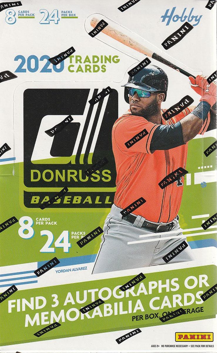 MLB 2020 PANINI DONRUSS HOBBY BASEBALL[ボックス]
