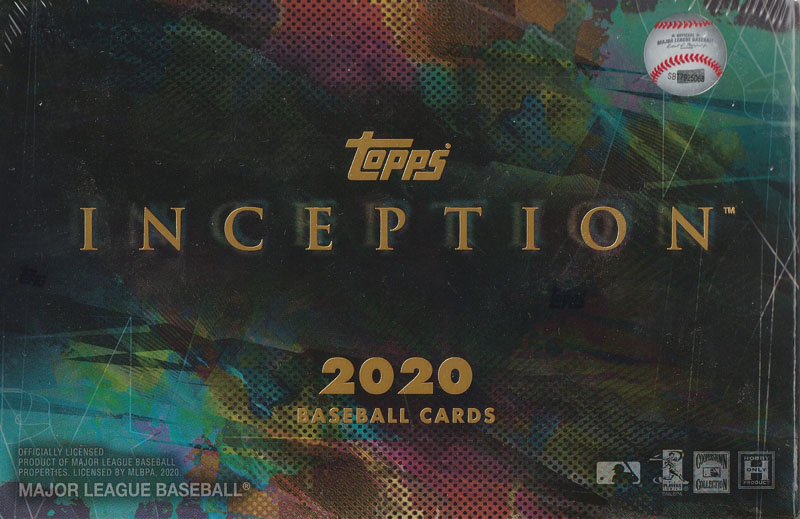 MLB 2020 TOPPS INCEPTION BASEBALL[ボックス]