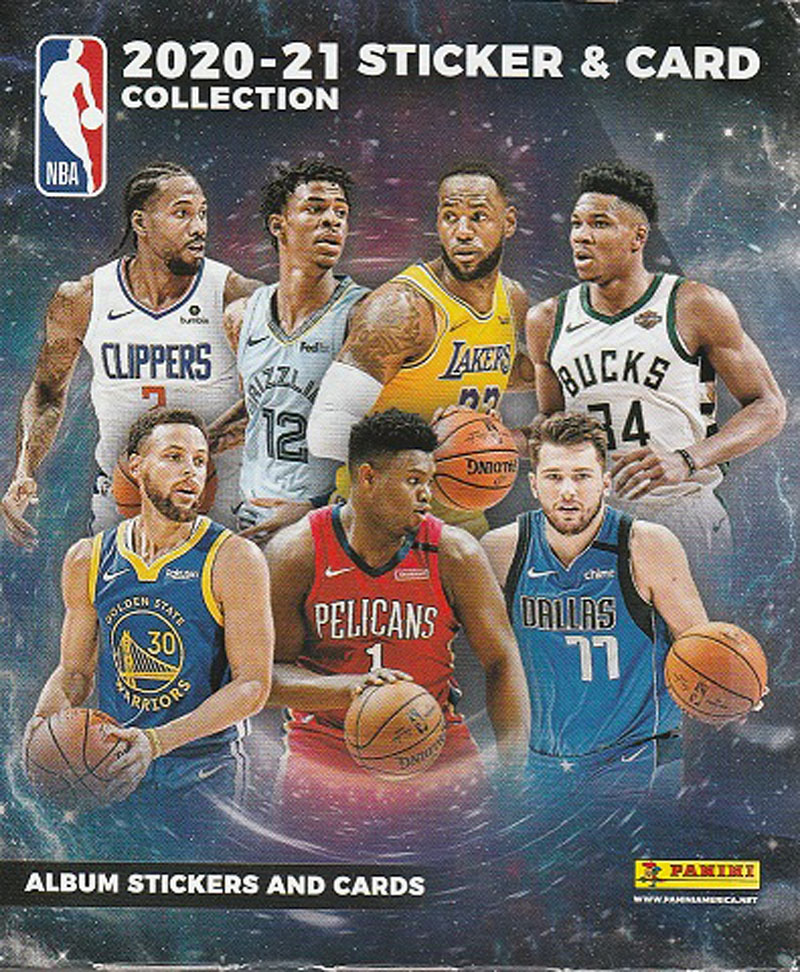 34-96358 NBA 2020-21 大放出セール PANINI ステッカーカード STICKER [再販ご予約限定送料無料] CARD COLLECTION