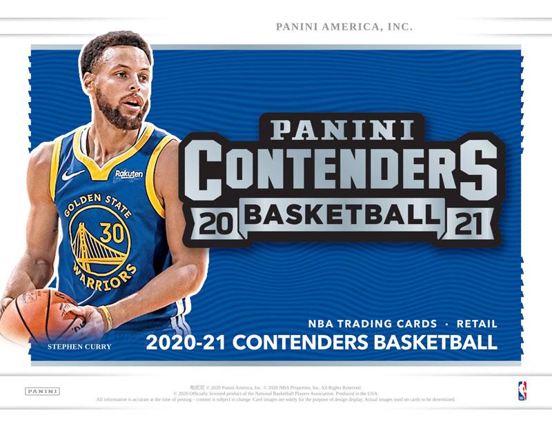 2021年06月19日発売 34-95968 NBA 再販ご予約限定送料無料 2020-21 PANINI BASKETBALL ラッピング無料 CONTENDERS FAT PACK