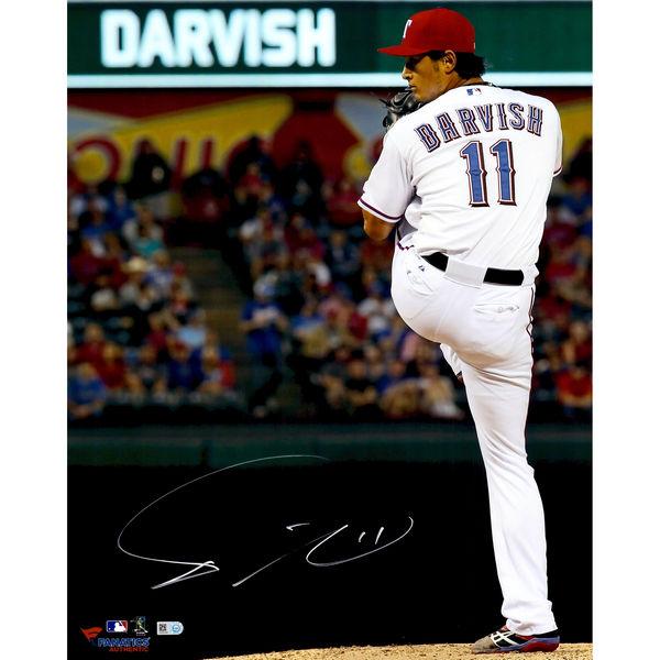 送料無料 Yu Darvish Texas Rangers Autographed 16