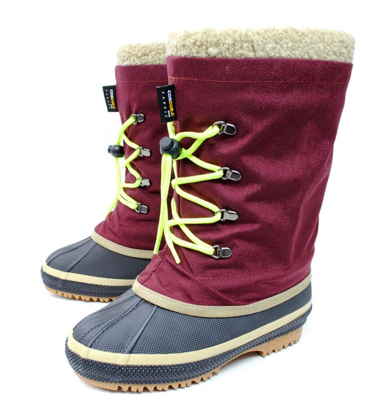 第一ゴム 長靴 超防寒 冬用 着せ替えできるラバーブーツ トリカエ Lady エンジ レディース 日本製 スノーブーツ