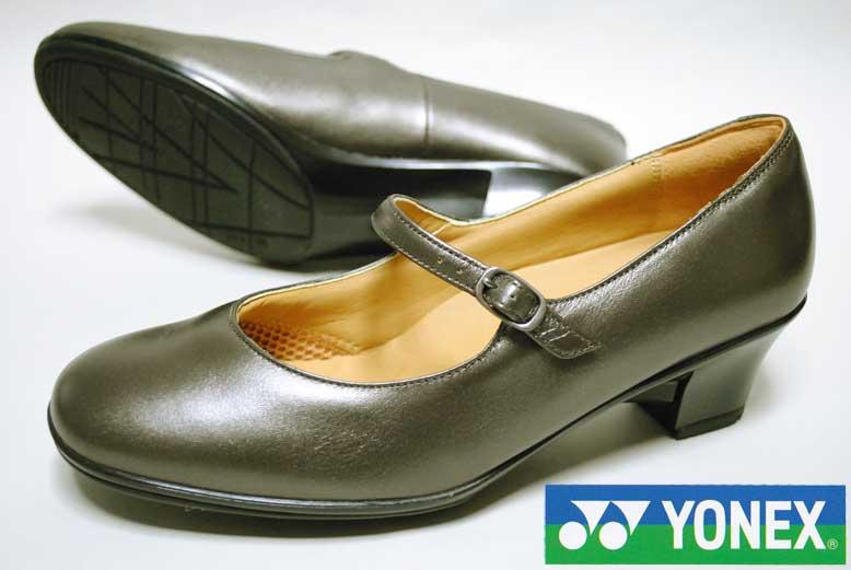 パワークッション コンフォートYONEX ヨネックス 靴ウォーキングパンプスパワークッションLB-02 ブロンズ