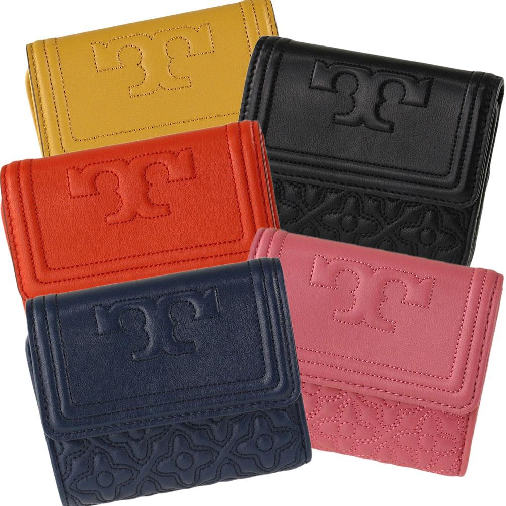 トリーバーチ 折りたたみ財布 TORY BURCH 46184 bryant foldable mini wallet