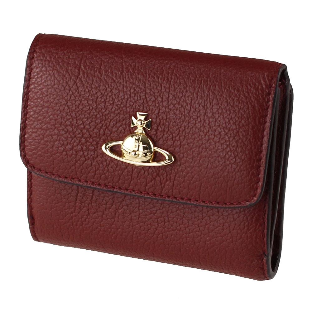 ヴィヴィアン ウエストウッド 折りたたみ財布 VIVIENNE WESTWOOD 51090019-40212 ブラウン