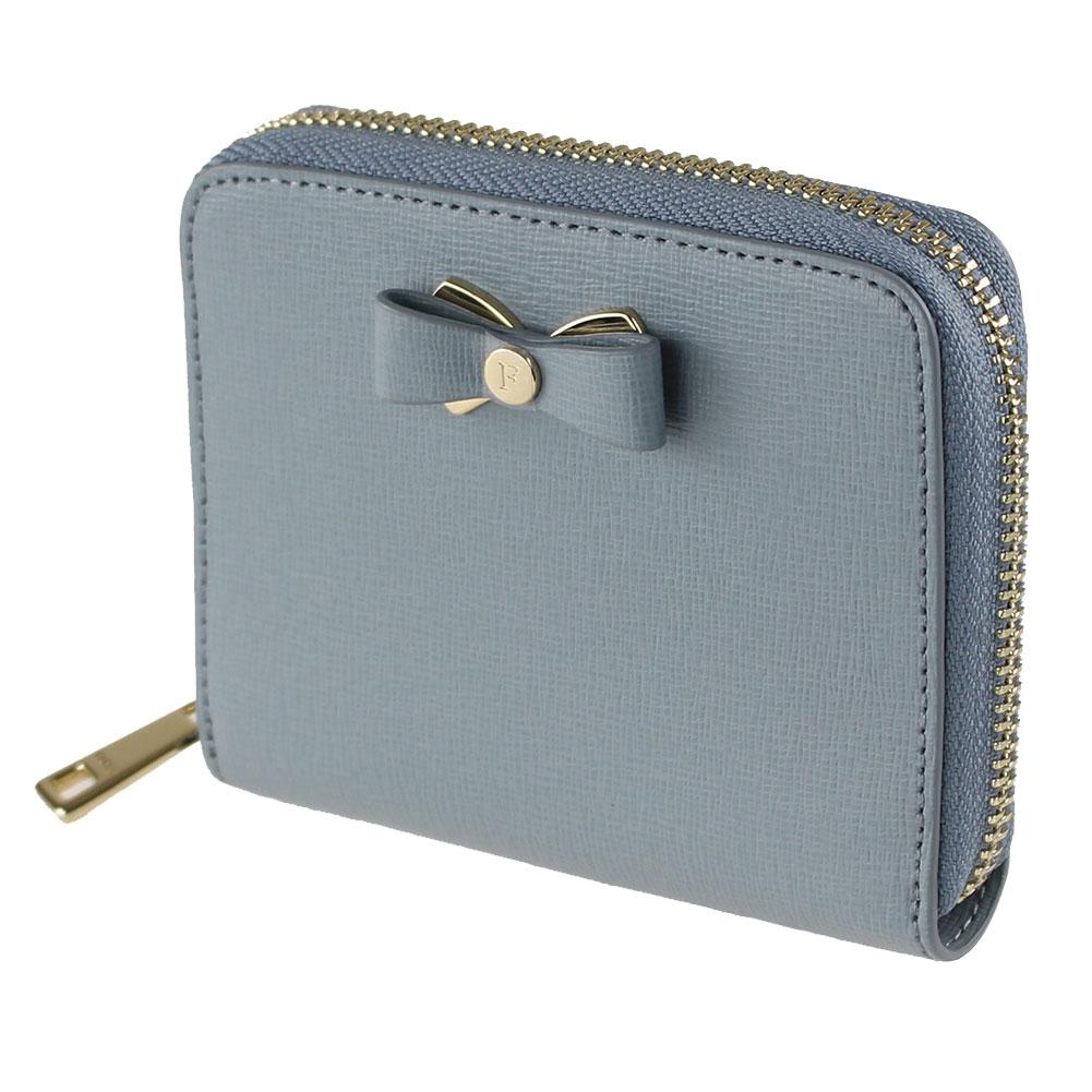 フルラ 折りたたみ財布 FURLA PBN1 B30 ブルー