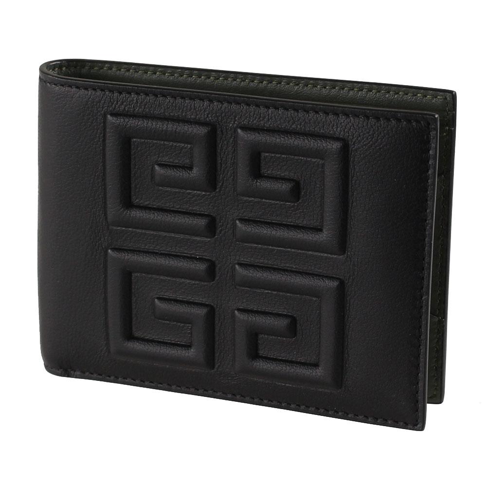 ジバンシィ ユニセックス 折りたたみ財布 GIVENCHY BK6012K0BA ブラック