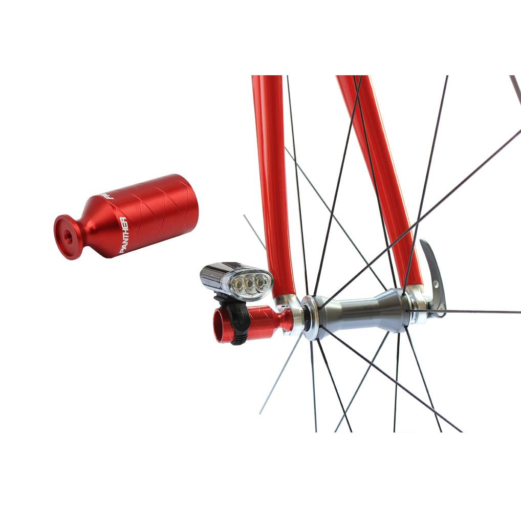 多色展開 アルミアルマイトカラー 自転車用 超軽量PANTHER パンサー アクセサリーホルダー ライトホルダー マウンテンバイク クイックリリース搭載自転車に全般対応 ハブパーツ ロードバイク 販売期間 限定のお得なタイムセール リアディレーラー保護 中古 クロスバイク ライトアダプター