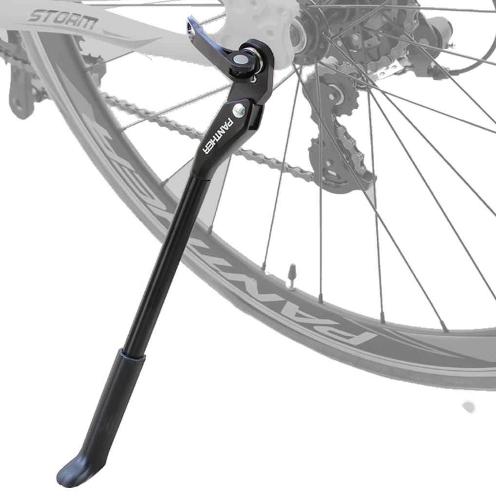 自転車 軽量キックスタンド サイドスタンド 爆売りセール開催中 24インチ#12316;700Cに適合 人気上昇中 マウンテンバイク 色BLACK クロスバイク ロードバイク クイックリリース仕様全般対応可能