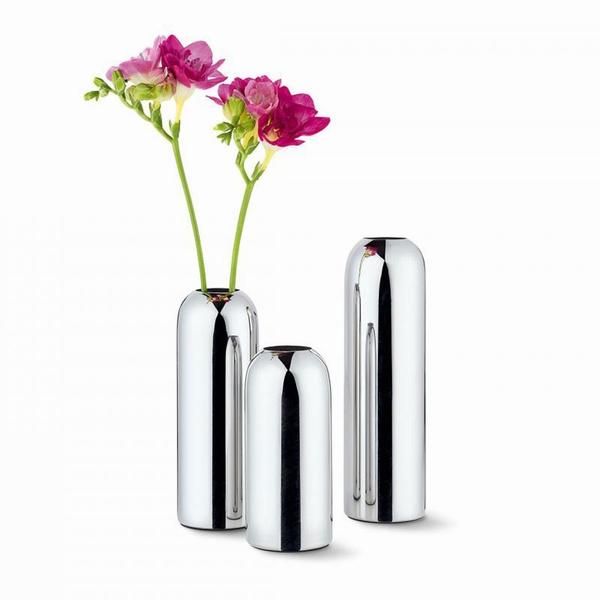 Mirage Style Mila Base Flower Base Vase Stainless Steel 240007l Pl