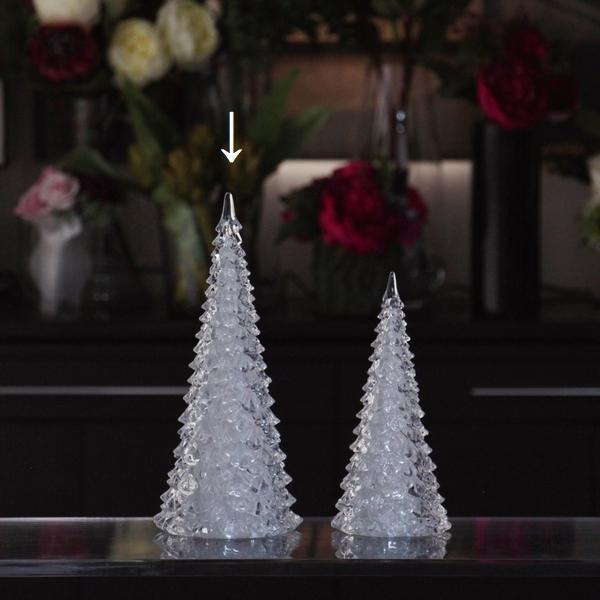 アクリルツリーライト 【Lサイズ】クリスマス LED XMAS 【MIRAGE-STYLE】Christmas 豪華 綺麗 インテリア モダン