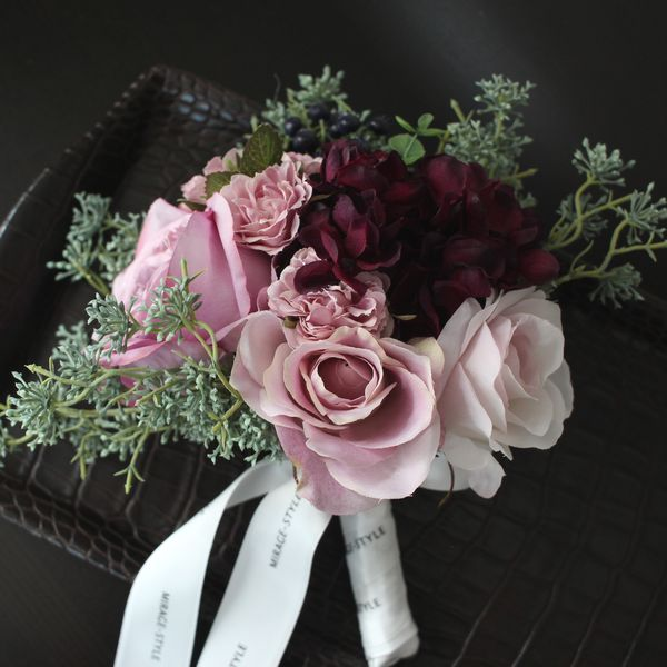 Mirage Style Original Bouquet Rose Mix Bouquet Modern Interior