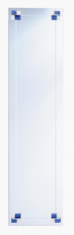 カジュアルミラー【フュージング・姿見サイズ・ブルー】AD-131【interior送料無料】