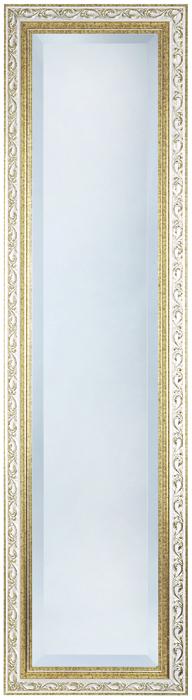 鏡・壁掛けミラー・玄関ミラー FS-41-15 【ホワイトxゴールド・姿見】【interior送料無料】配送時間指定不可