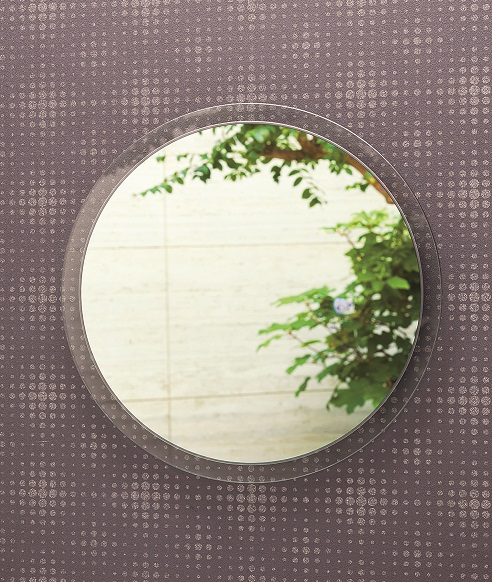 壁掛けミラー【 AI-603 】 シンプルミラー 円形40cm 丸型【アルテジャパン 送料無料】