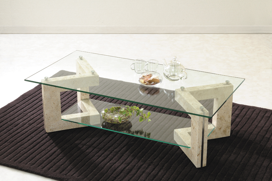 Mirage Glass Table Living Center Table Ms 2 マクタンスト Ng