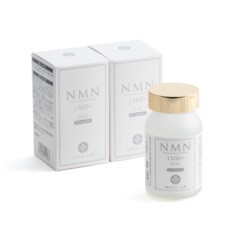 NMN PURE 1500プラス(60カプセル)3個セット