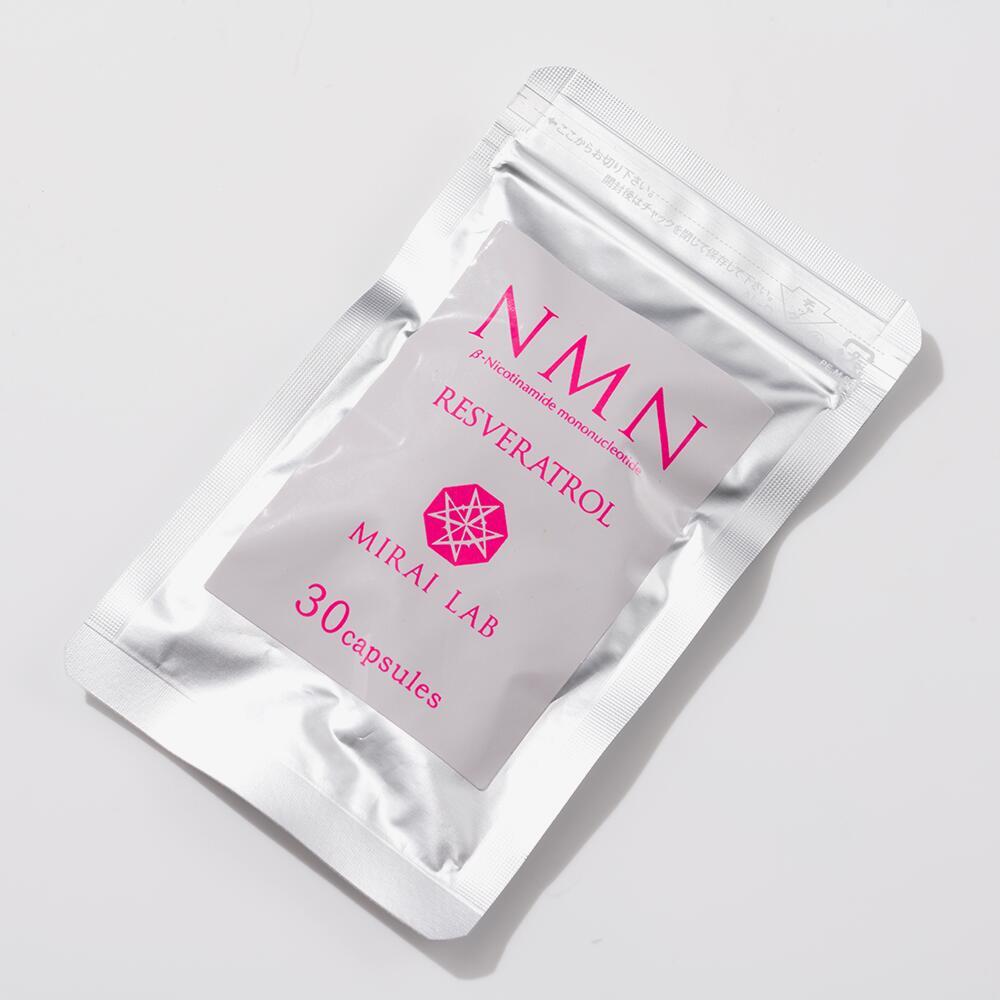NMN+レスベラトロール(30粒)