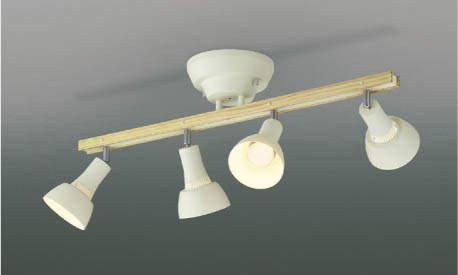 コイズミ照明 AA47244L LED シャンデリア 電球色 60W×4灯相当 (ウォ-ムホワイト)