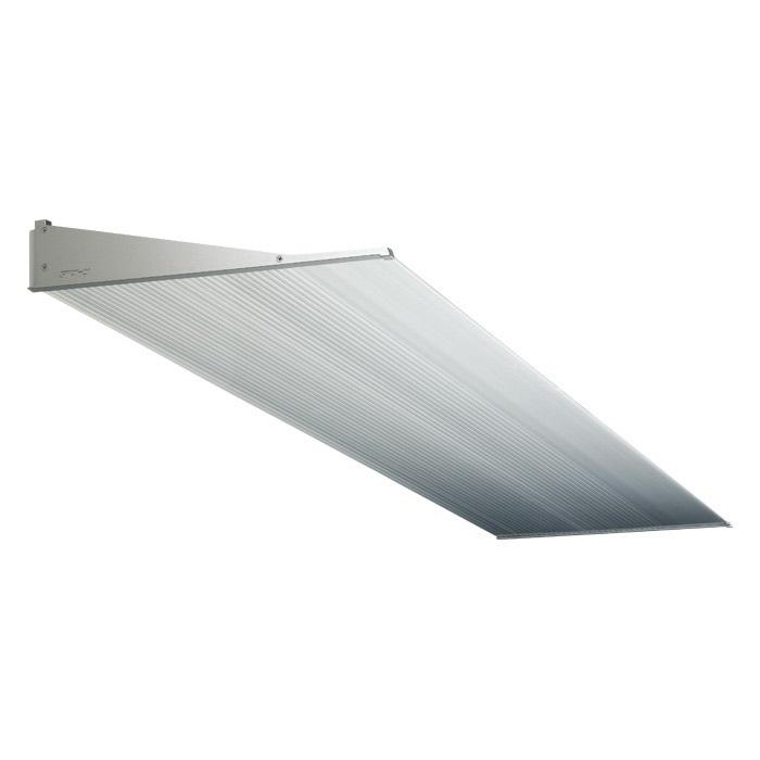 今季一番 アルフィンひさし 霜除け AF796 出幅:600mm 長さ:1700mm 色:シルバー/ステンカラー/ブラック/ホワイト LED照明取付可 (メーカー直送・送料無料):みらいの夢-木材・建築資材・設備