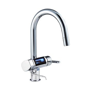 トリムイオンGRACIA】混合水栓一体型電解水素水整水器