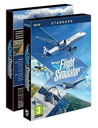 送料無料 マイクロソフト フライトシミュレーター 2020 Microsoft Flight Simulator 2020 - Standard (輸入版) - PC DVD【新品】