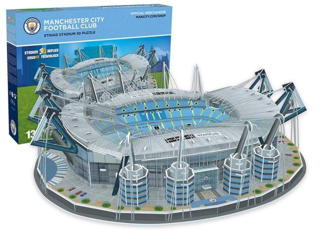 Manchester City マンチェスターシティ Fc Etihad スタジアムレプリカ3Dパズル 輸入版【新品】