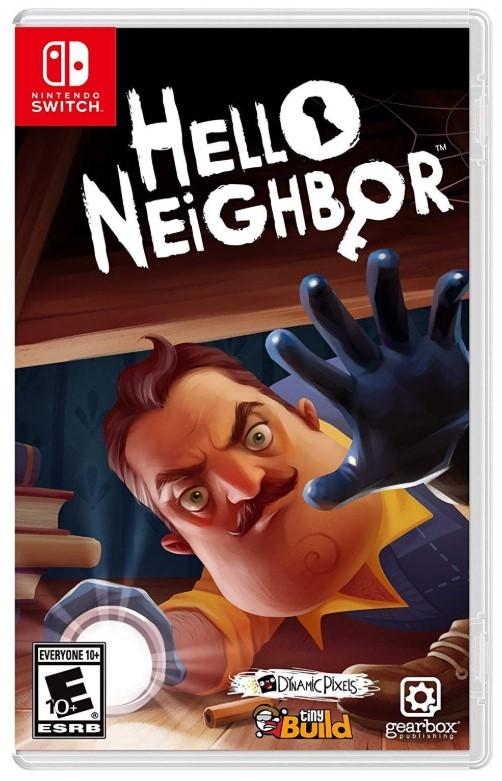 送料無料 ハローネイバー 百貨店 Hello Neighbor - 輸入版:北米 Switch 好評受付中 新品