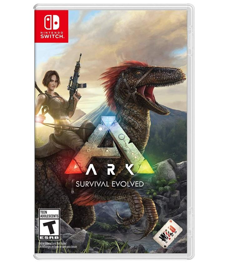 送料無料 1年保証 付与 ARK:Survival Evolved アーク サバイバル エボルブド スイッチ パッケージ版ソフト Nintendo 日本語選択可能 新品 Switch 輸入版:北米