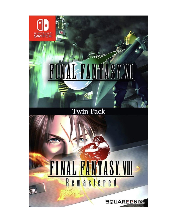 送料無料 Final Fantasy VII VIII Remastered 2020 Twin Pack Switch リマスタード 輸入版 人気急上昇 新品 パッケージ版 - -ファイナルファンタジーVII