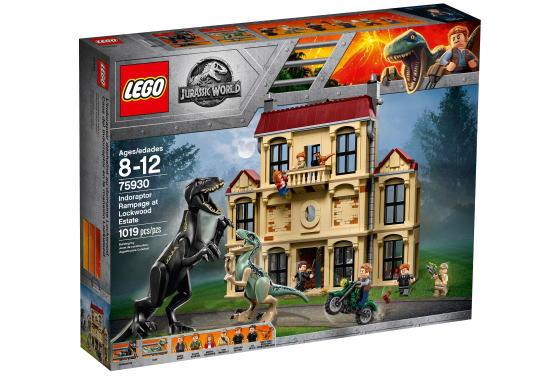 レゴ ジュラシックワールド 75930 インドラプトル、ロックウッド邸で大暴れ
