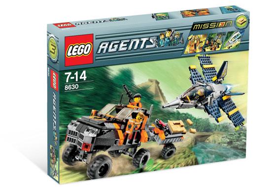 レゴ エージェント 8630 Mission 3: Gold Hunt