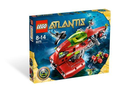 レゴ アトランティス 8075 ネプチューン・キャリア