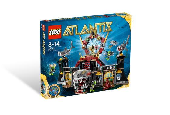レゴ アトランティス 8078 シャーク・キャッスル