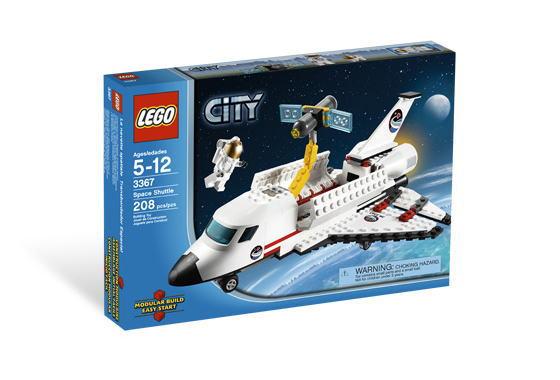 レゴ シティ 3367 スペースシャトル