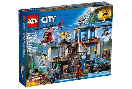 レゴ シティ 60174 山のポリス指令基地