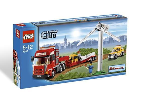 レゴ シティ 7747 Wind Turbine Transport
