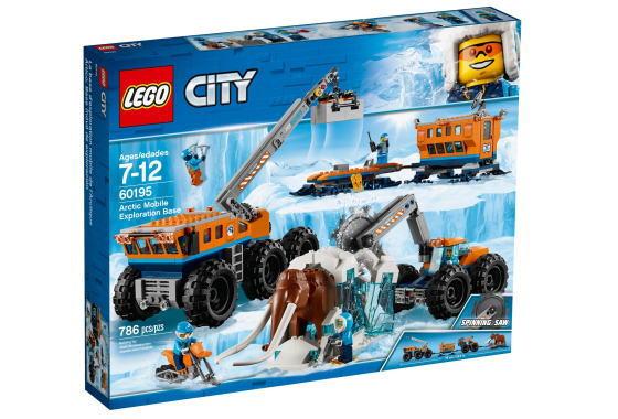 レゴ シティ 60195 北極探検基地