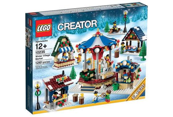 レゴ クリエイター エキスパート 10235 Winter Village Market