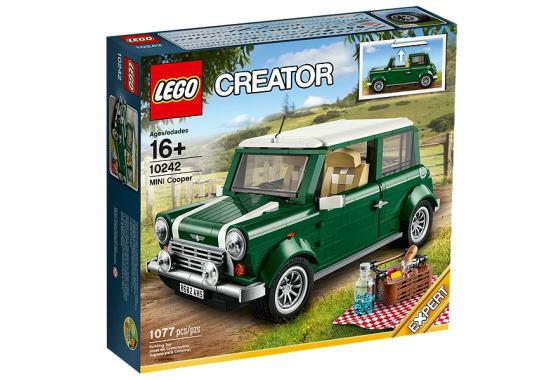 レゴ クリエイターエキスパート 10242 MINI Cooper MK VII