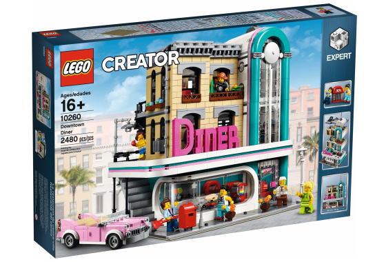 レゴ クリエイターエキスパート 10260 Downtown Diner
