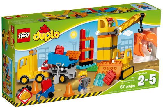 レゴ デュプロ 10813 デュプロのまち 工事現場とはたらく車