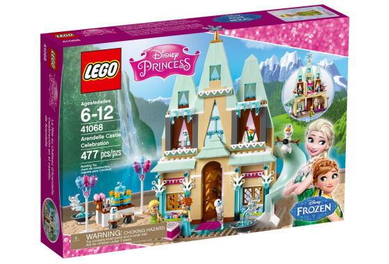 レゴ ディズニープリンセス 41068 アナとエルサのアレンデール城