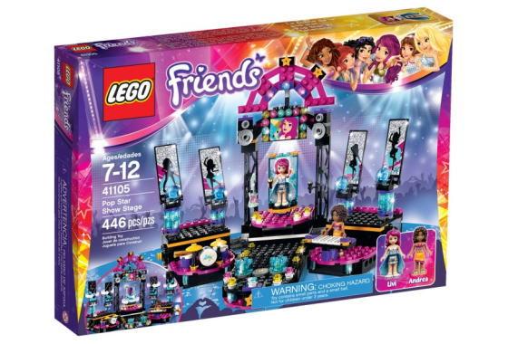 <title>LEGO Friends 期間限定お試し価格 レゴ フレンズ 41105 ポップスター ライブステージ</title>