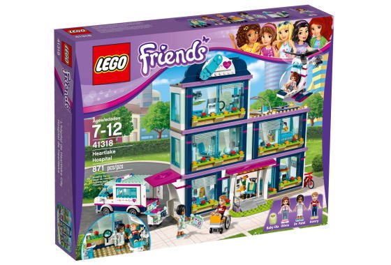 レゴ フレンズ 41318 ハートレイクシティの病院