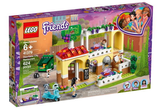 レゴ フレンズ 41379 ハートレイクのガーデンレストラン